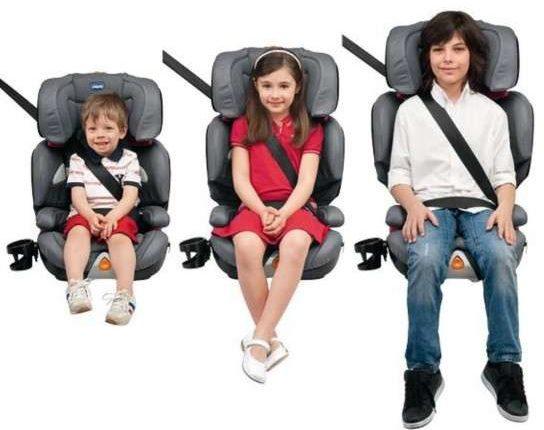 Seggiolino auto per i bimbi. Ecco cosa dice il codice della strada